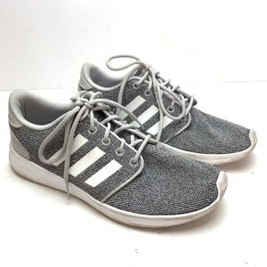 ADIDAS CLOUDFOAM Gray Running Shoes Sneakers 7.5